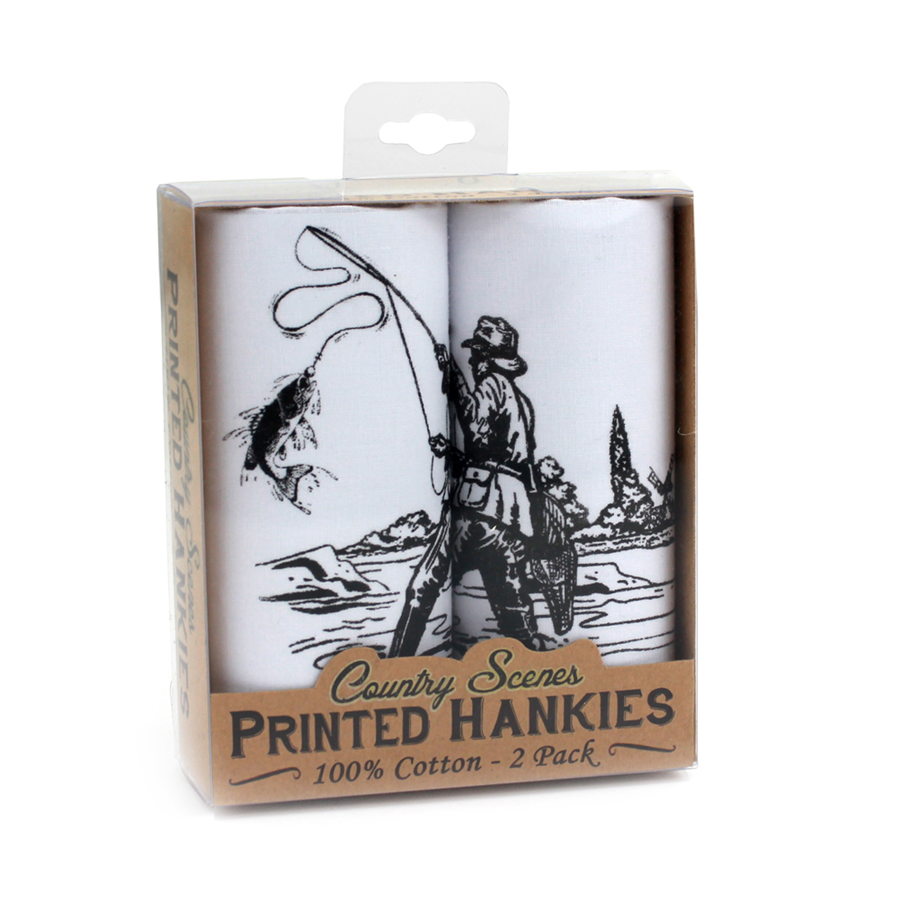 Mag Mouch Fishing Hankies- 2 Pack	 1