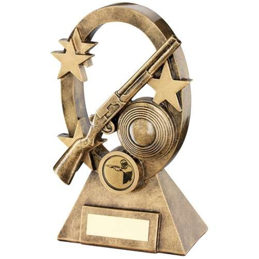 Bronze Oval Shooting Star Trophy 1