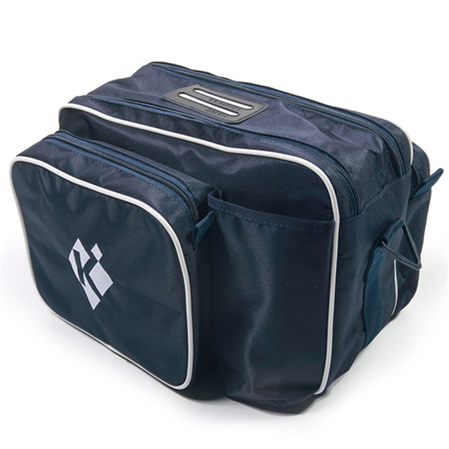 Krieghoff Cartridge Bag- Navy & White 2