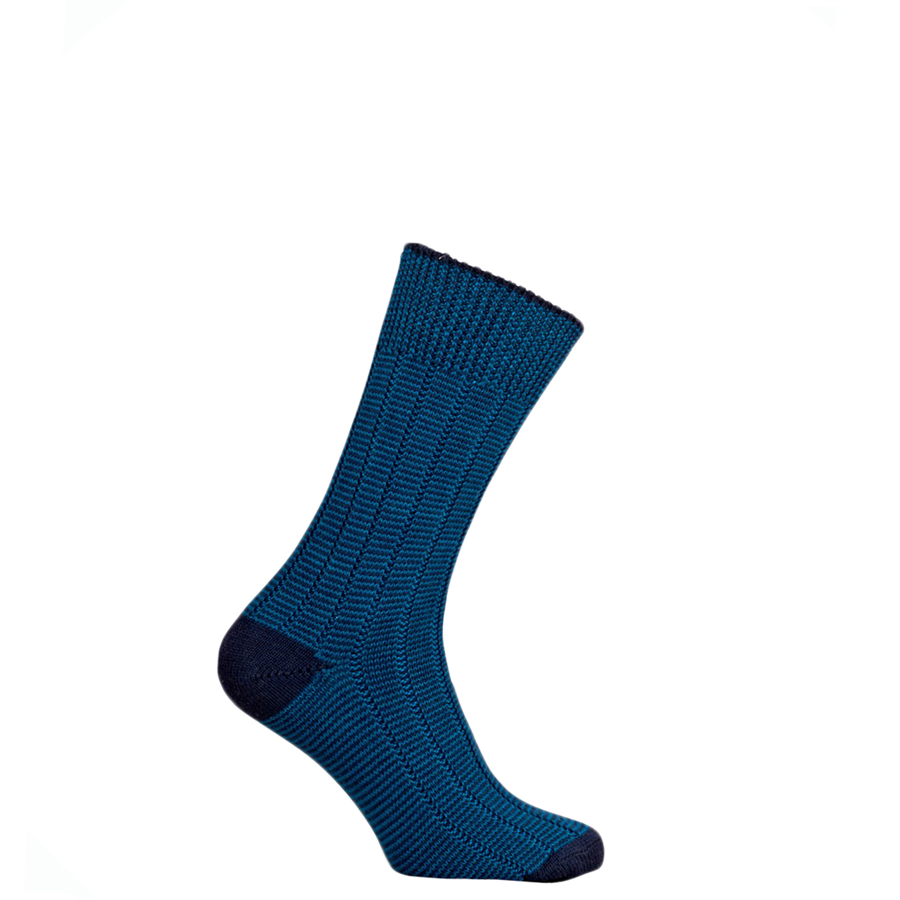 Pennine Dartmoor Socks Mid Navy M 1