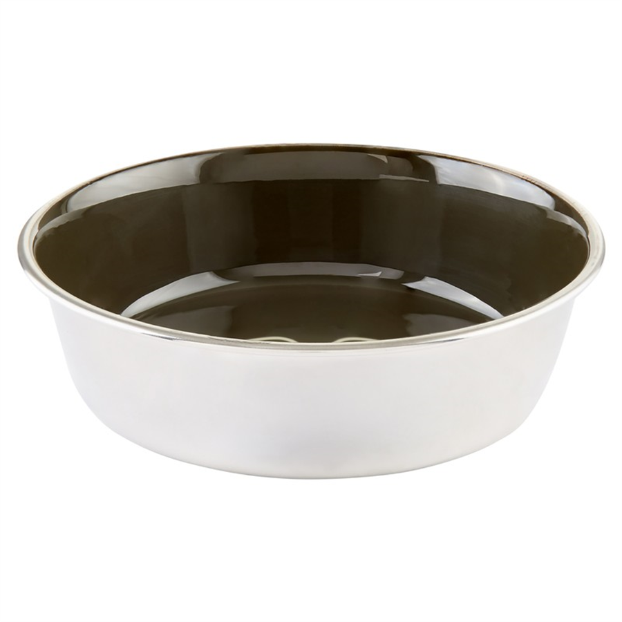 Stainless Steel Dog Bowl - Vert Chameau 2