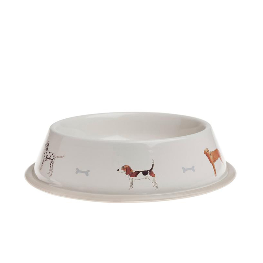 Sophie Allport Dog Bowl- Small Woof 1