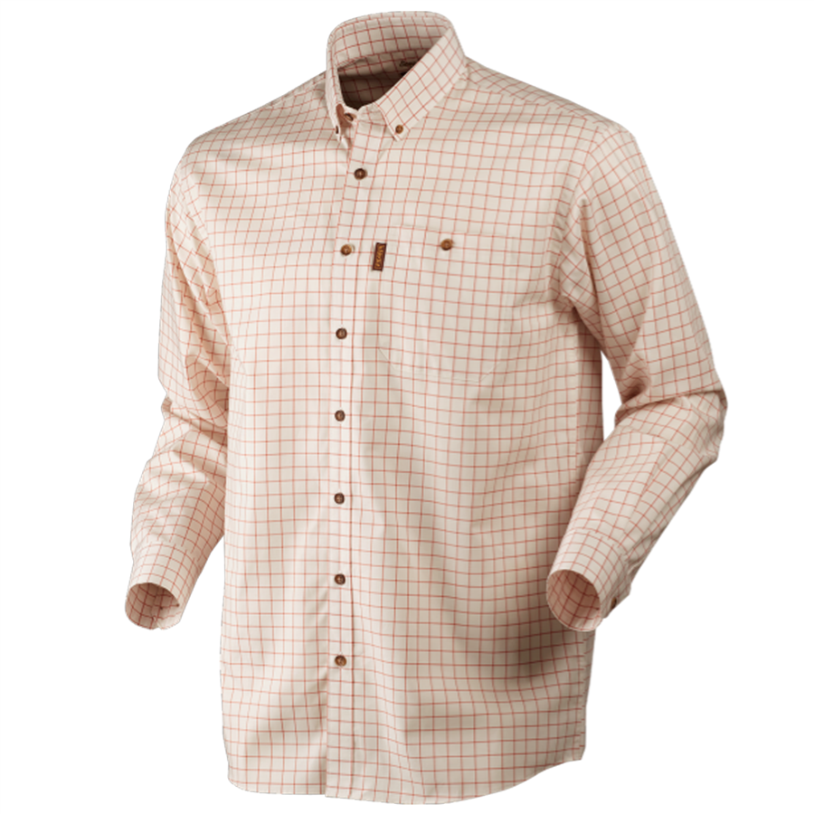 Stenstrop Shirt Burnt Orange Check M 1