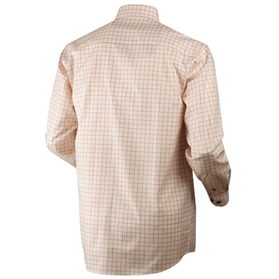 Stenstrop Shirt Burnt Orange Check M 2