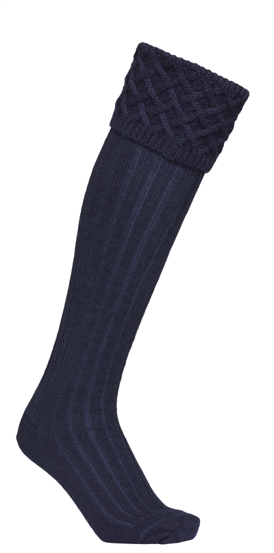 Laksen Windsor Socks - Deep Sea