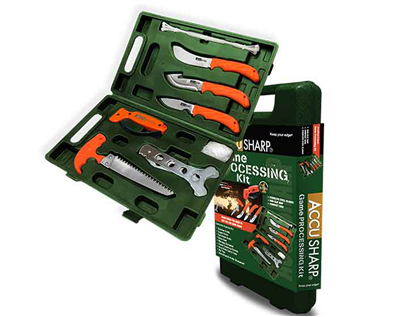 AccuSharp Game Processing Kit - 9 Pieces