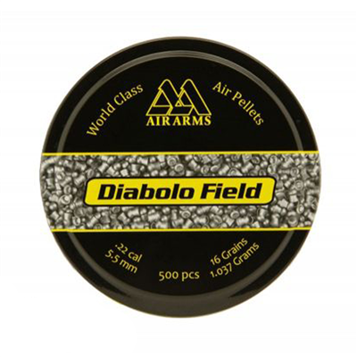 Air Arms Diabolo Field .22 Pellets - 500