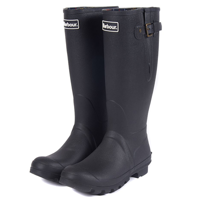 Barbour Amble Wellington Boots - Black