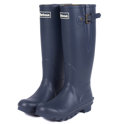 Barbour Ladies Amble Wellington Boots - Navy