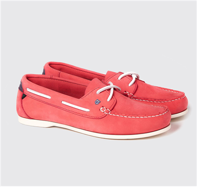 Dubarry Ladies Aruba Deck Shoes - Coral