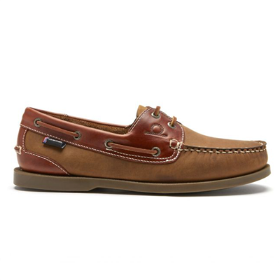 Chatham Bermuda II G2 Men's Classic Boat Shoe - Walnut