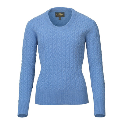 Laksen Ladies Burleigh Knit - Sky