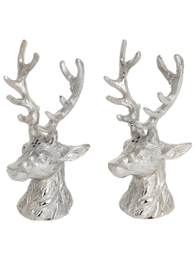 Culinary Concepts London Stags Head Salt & Pepper Set