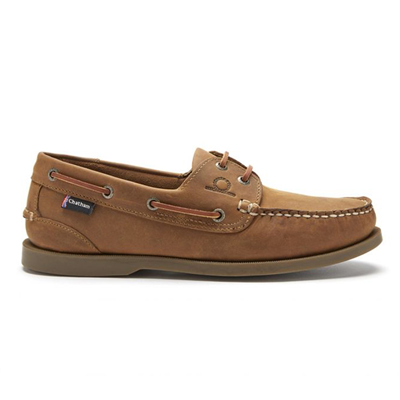 Chatham Marine Deck II G2 Men's Classic Boat Shoe - Walnut