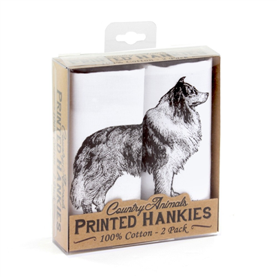 Mag Mouch Collie Handkerchiefs - 2 Pack