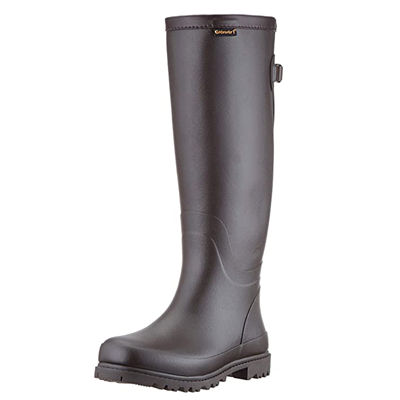Gateway1 Ladies Ascot Wellington Boots - Dark Brown