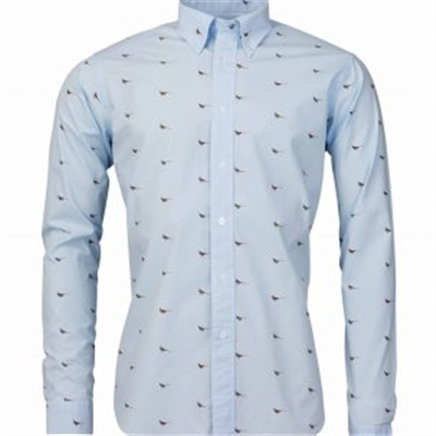 Laksen Fasante Shirt - Light Blue
