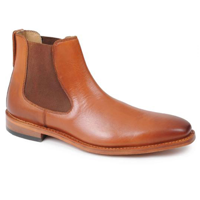 Catesby Leather Dealer Boots - Tan