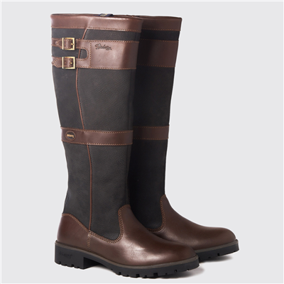 Dubarry Longford Boots - Black/Brown