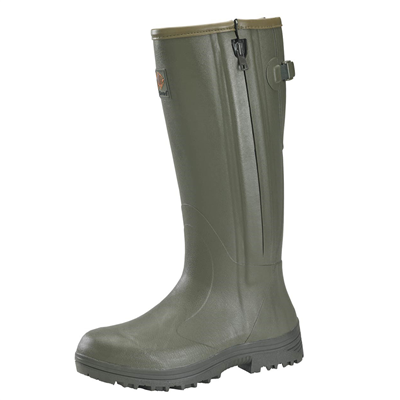 Gateway1 Pheasant Game Side-Zip Wellington Boots - Dark Olive