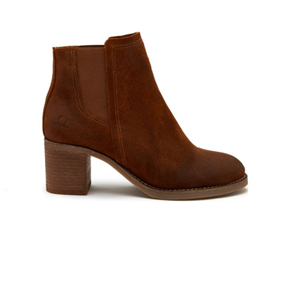 Chatham Ladies Savannah Suede Chelsea Boots - Tan