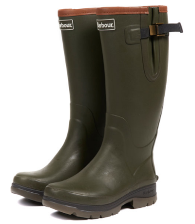 Barbour Tempest Wellingtons- Olive