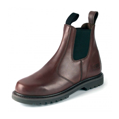 Hoggs Shire Dealer Boots - Brown Leather