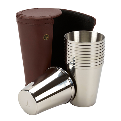Farm Cottage Brands Numbered Stainless Steel Cups - 4oz