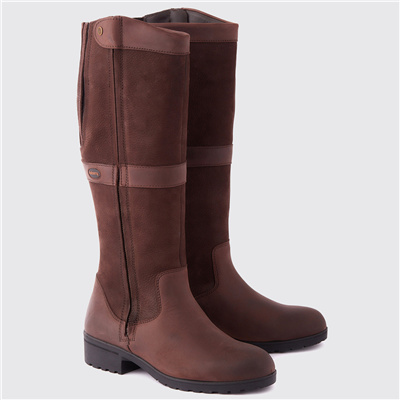 Dubarry Sligo Knee-High Boots - Java