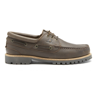 Chatham Sperrin Boat Shoe - Dark Brown
