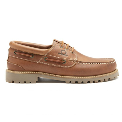 Chatham Sperrin Boat Shoe - Tan