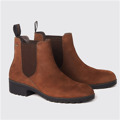 Dubarry Ladies Waterford Chelsea Boots - Walnut