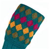 Pennine Kendal Luxe Turquoise Socks  L 2